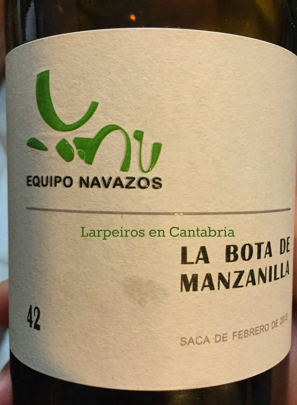 La Bota de Manzanilla Nº 42: Nos apasiona
