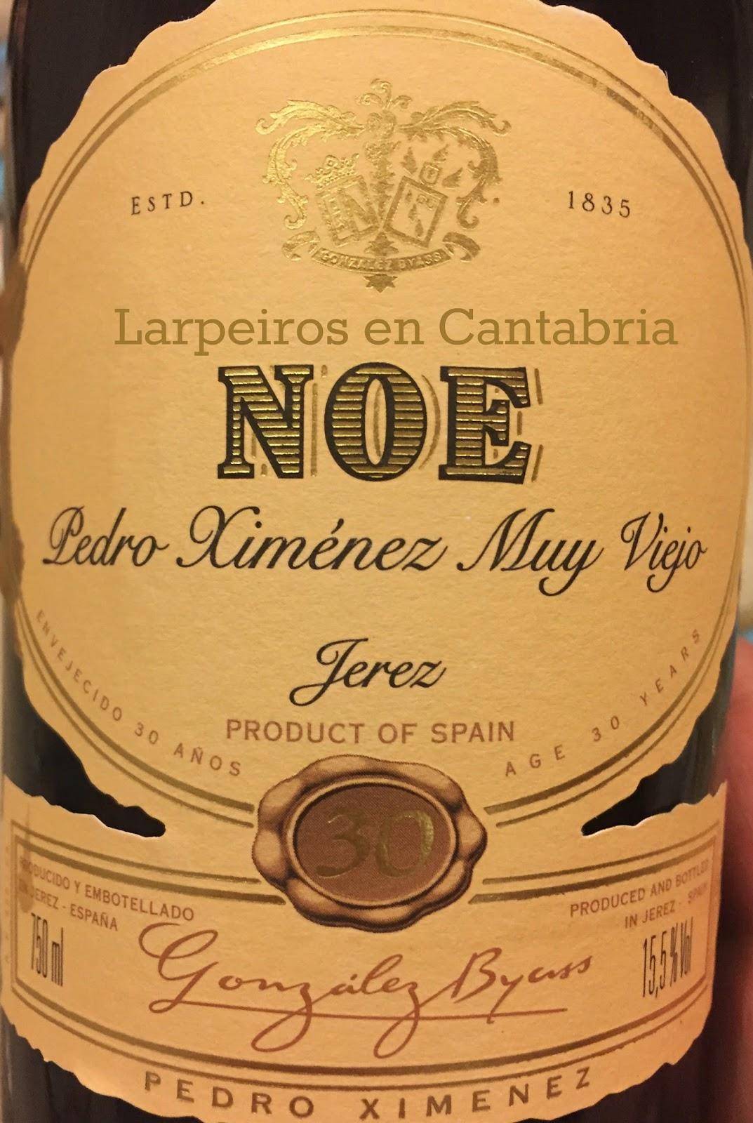 Noe Pedro Ximénez Muy Viejo de 30 años: Néctar Puro