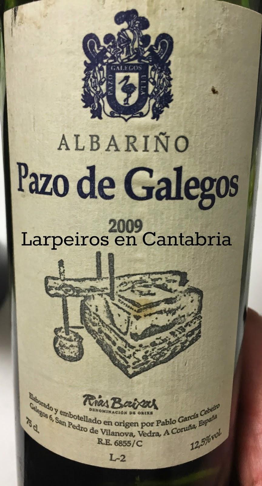 Vino Blanco Pazo de Galegos 2009: Realmente Bueno