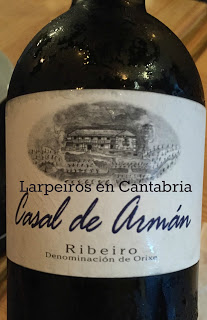 Vino Blanco Casal de Armán 2013: No nos cansamos de él