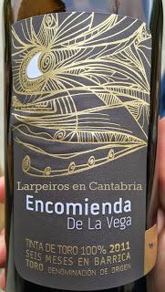 Vino Tinto Encomienda de la Vega 2011: Otra buena sorpresa