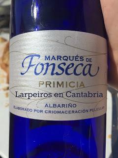Vino Blanco Marqués de Fonseca Primicia 2012: Agradable Sorpresa