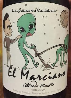 Vino Tinto Alfredo Maestro El Marciano 2014