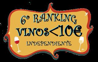 VI Ranking Independiente de los 10 mejores vinos por menos de 10 €