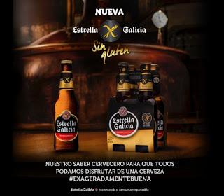 Cerveza Estrella Galicia Sin Gluten: Bienvenida a la familia