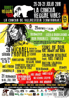 La Concha Reggae Vibes 2016: Nota de prensa