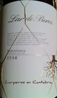 Tinto Lar de Beroz 2006