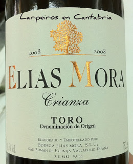 Tinto Elias Mora Crianza 2008