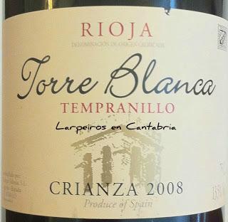 Tinto Torreblanca Cza. 2008 Vino de la Feria de día de Santander 2011