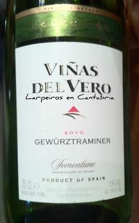 Blanco Viñas del Vero Gewurztraminer 2010