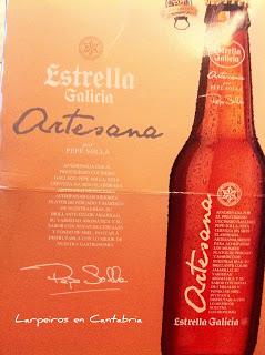 Cerveza Estrella Galicia Artesana