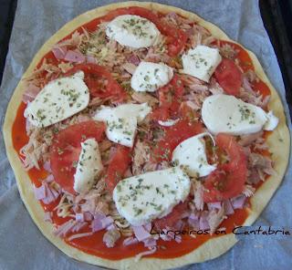Pizza Mozzarella de Minniky Sin Lactosa