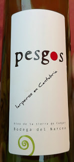 Tinto Pesgos 2008 uno más de Cangas