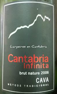 Cava Cantabria Infinita Brut Nature 2006 de Segura Viudas