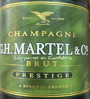 Champagne GH Martell & Co. Brut Prestige