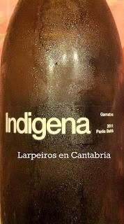 Vino Blanco Indigena 2011 nueva Garnacha Blanca del Penedés