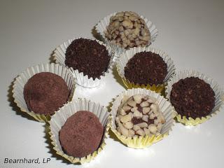 Trufas de Chocolate de Bearnhard