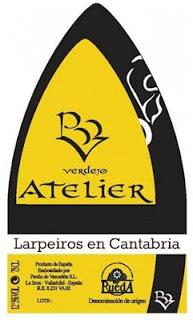 Vino blanco Atelier 2010 Rueda Curioso