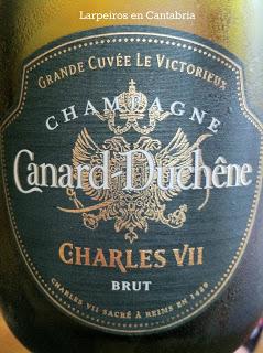 Champagne Canard Duchêne Charles VII Brut Grande Cuvée Victorieux