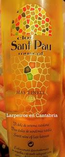 Vino Clos Sant Pau Muscat de Frontignac, oro dulce