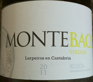 Vino Blanco Montebaco 2011, regalo sorpresa y sorprendente