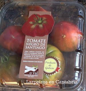 Tomate Negro de Santiago, sabroso, a lo que tiene que saber un tomate