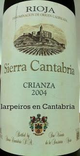Tinto Sierra Cantabria Crianza 2004, Rico