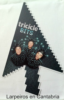"""Tricicle """"Bits"""", Espectacular"""