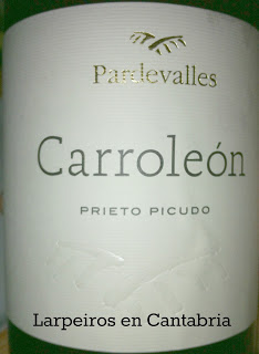 Vino Tinto Carroleón 2008, nada más oler me encantó