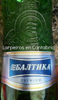 Cervezas Baltika, made in Rusia
