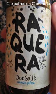 Cerveza Raquera de Dougall´s: Piensa en global bebe local