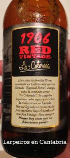 Cerveza Estrella Galicia 1906 Red Vintage: La Colorada