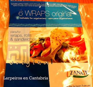 Wraps de Zanuy, una variante del Taco Mexicano