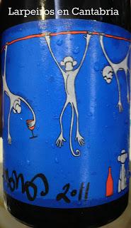 Vino Tinto 4 Monos 2011: Garnacha y syrah de Madrid