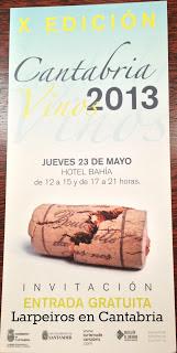 X Edición Cantabria Vinos 2013: Por allí andaremos