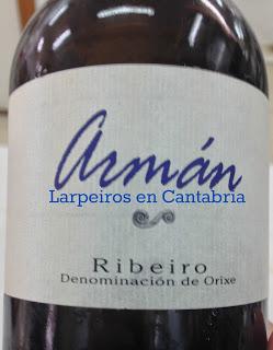 Vino Blanco Armán Sobre Lías 2008: Espectacular-Espectacular