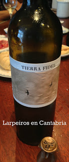 Vino Blanco Tierra Fidel 2010: Subjetivamente Excelente