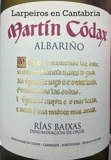 Vino Blanco Martín Códax 2012: Sigo pensando lo mismo