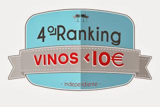 IV Ranking independiente de los 10 mejores vinos por menos de 10 euros
