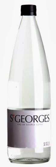 Agua Saint Georges: 0% Nitratos, 100% Córcega