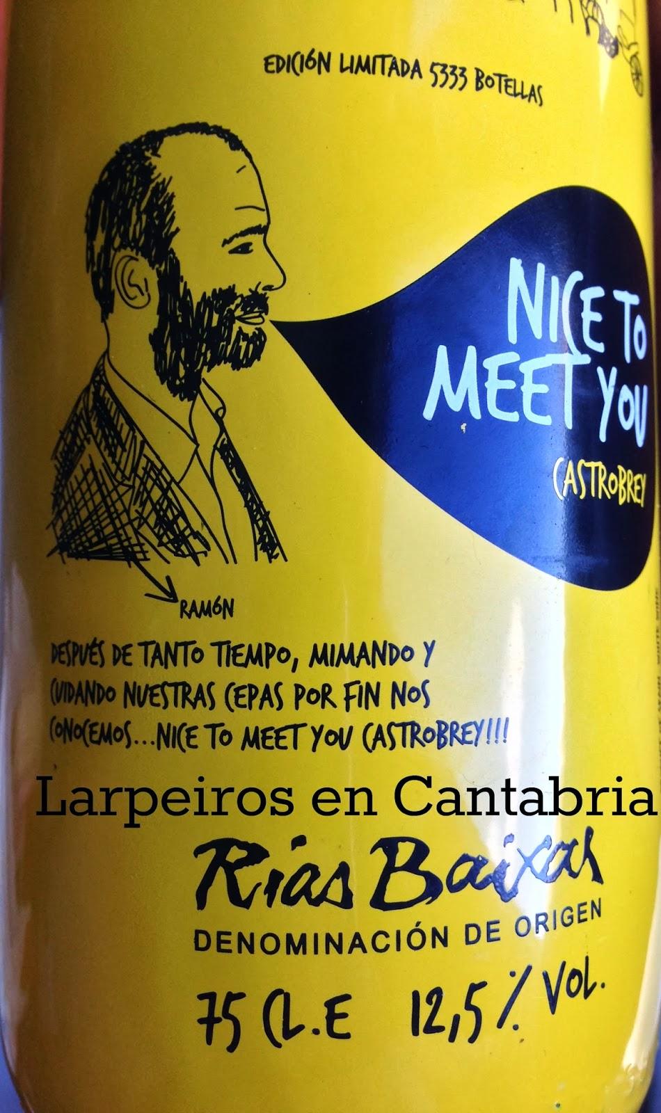 Vino Blanco Nice To Meet You 2012: Encantado de conocerte