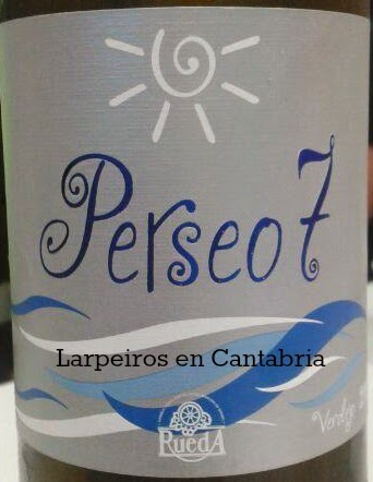 Blanco Perseo7 2013: Otro Rueda de los que nos gusta