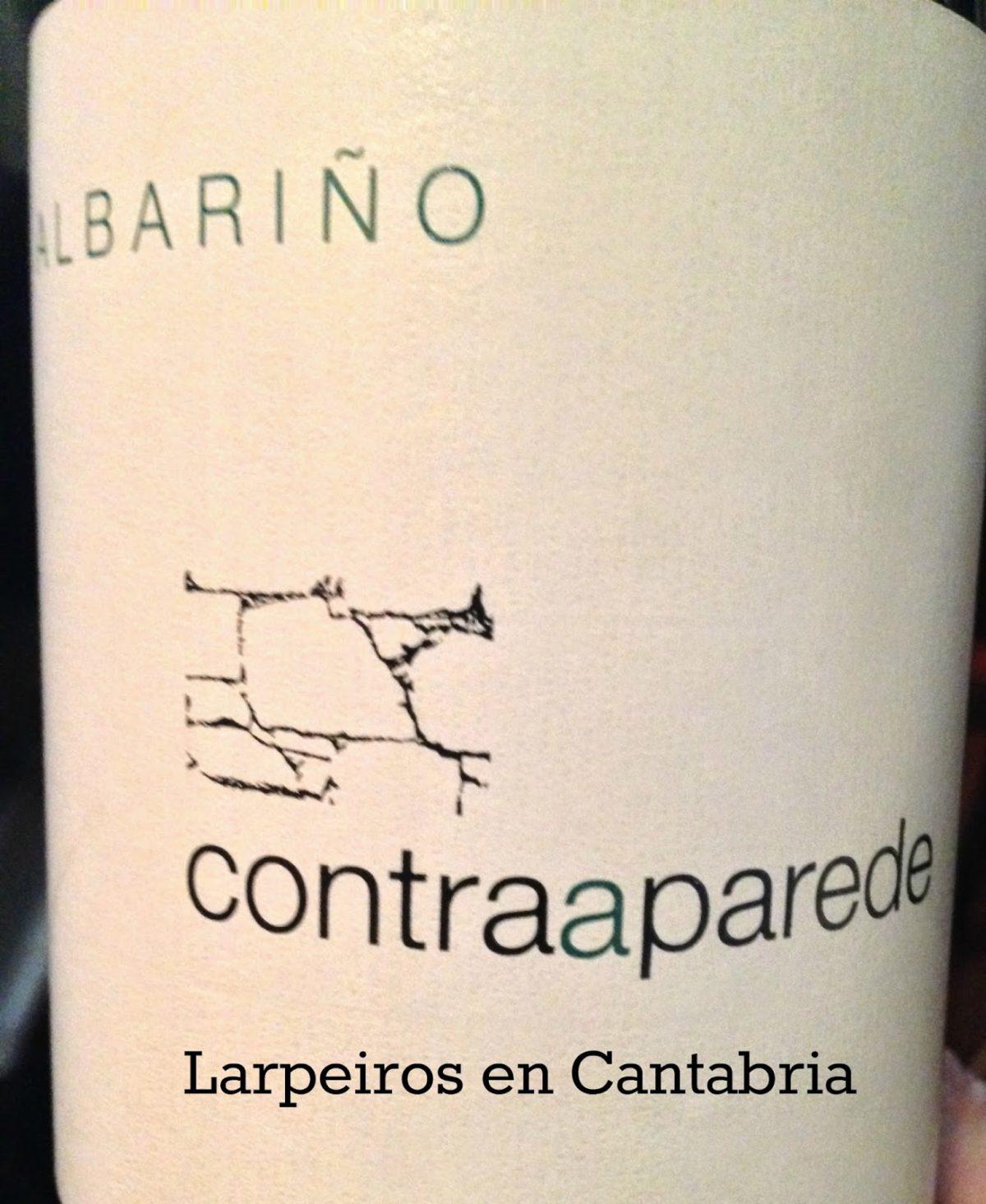 Blanco Contraaparede 2009, vinazo de la subzona O Salnés