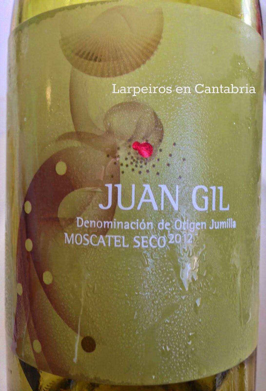 Vino Blanco Juan Gil Moscatel Seco 2012: Nos gusta esta bodega