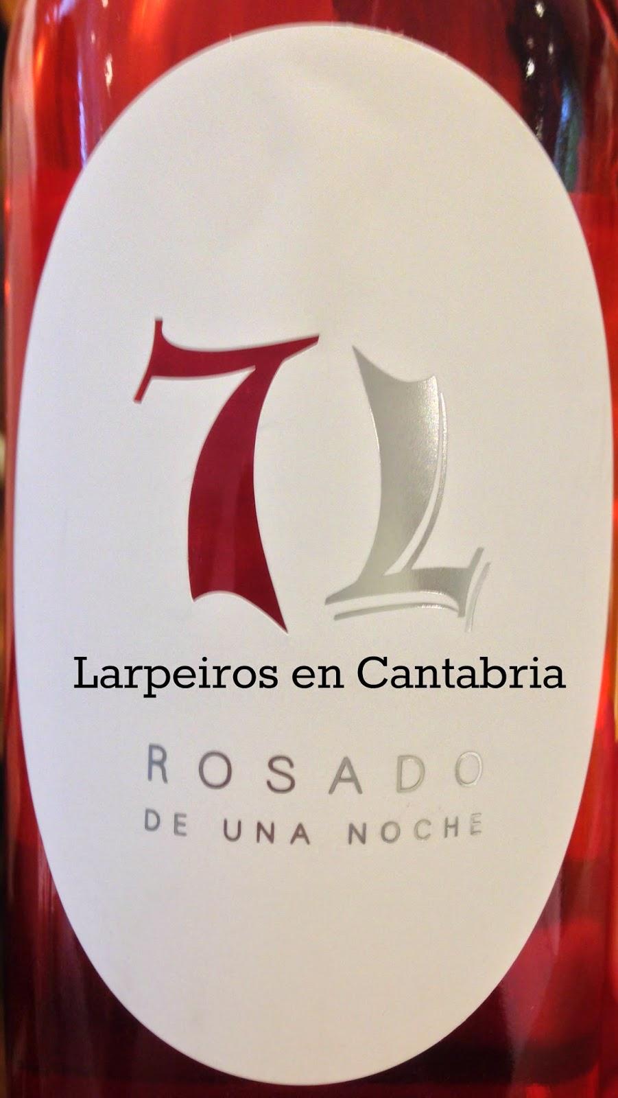 Rosado 7L La Legua 2013: Rosado de una noche; agradable