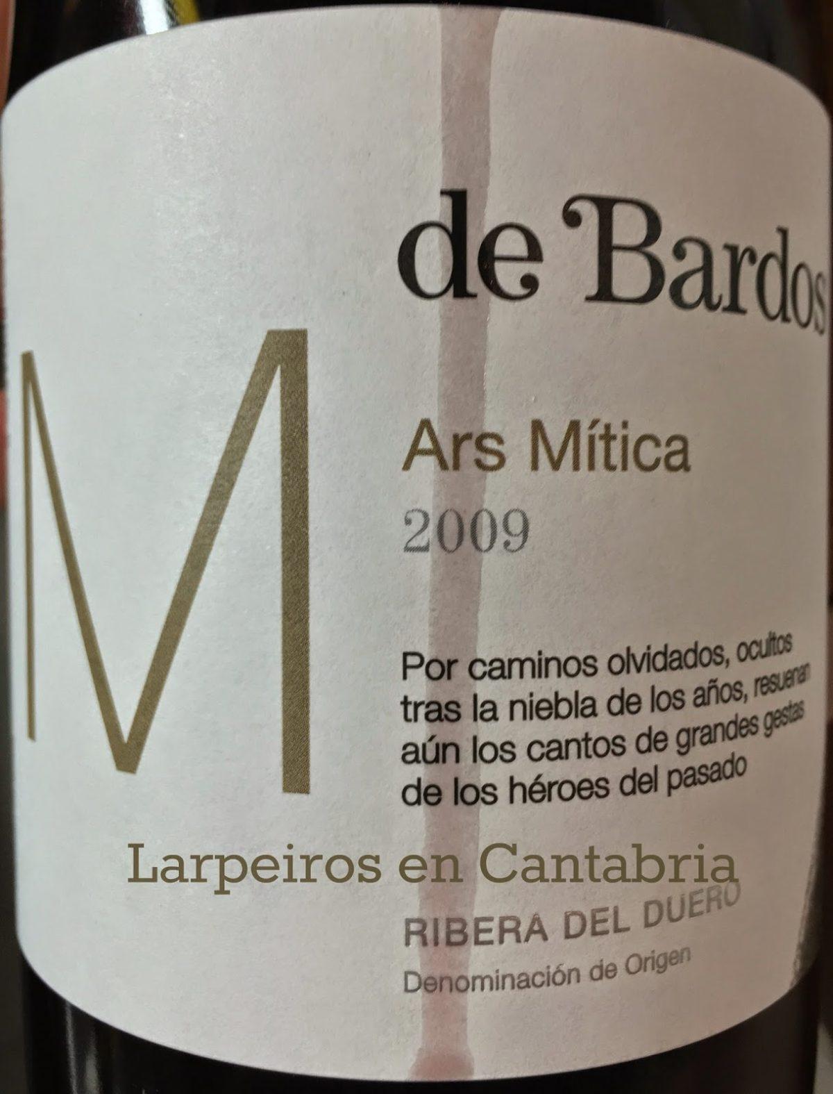Vino Tinto De Bardos Ars Mítica 2009: Gran Ribera del Duero
