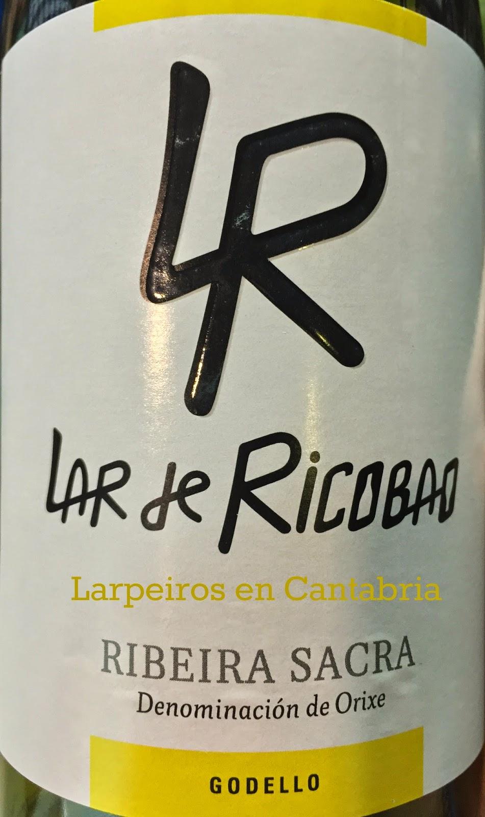 Blanco Lar de Ricobao 2013: Su primera añada