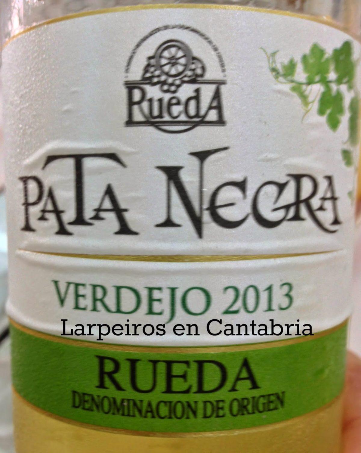 Vino Blanco Pata Negra 2013 Verdejo: Pues …