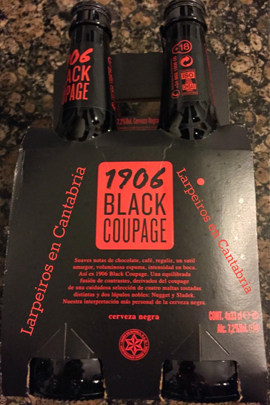 Cerveza 1906 Black Coupage de Estrella Galicia: La Oveja Negra de la familia Rivera