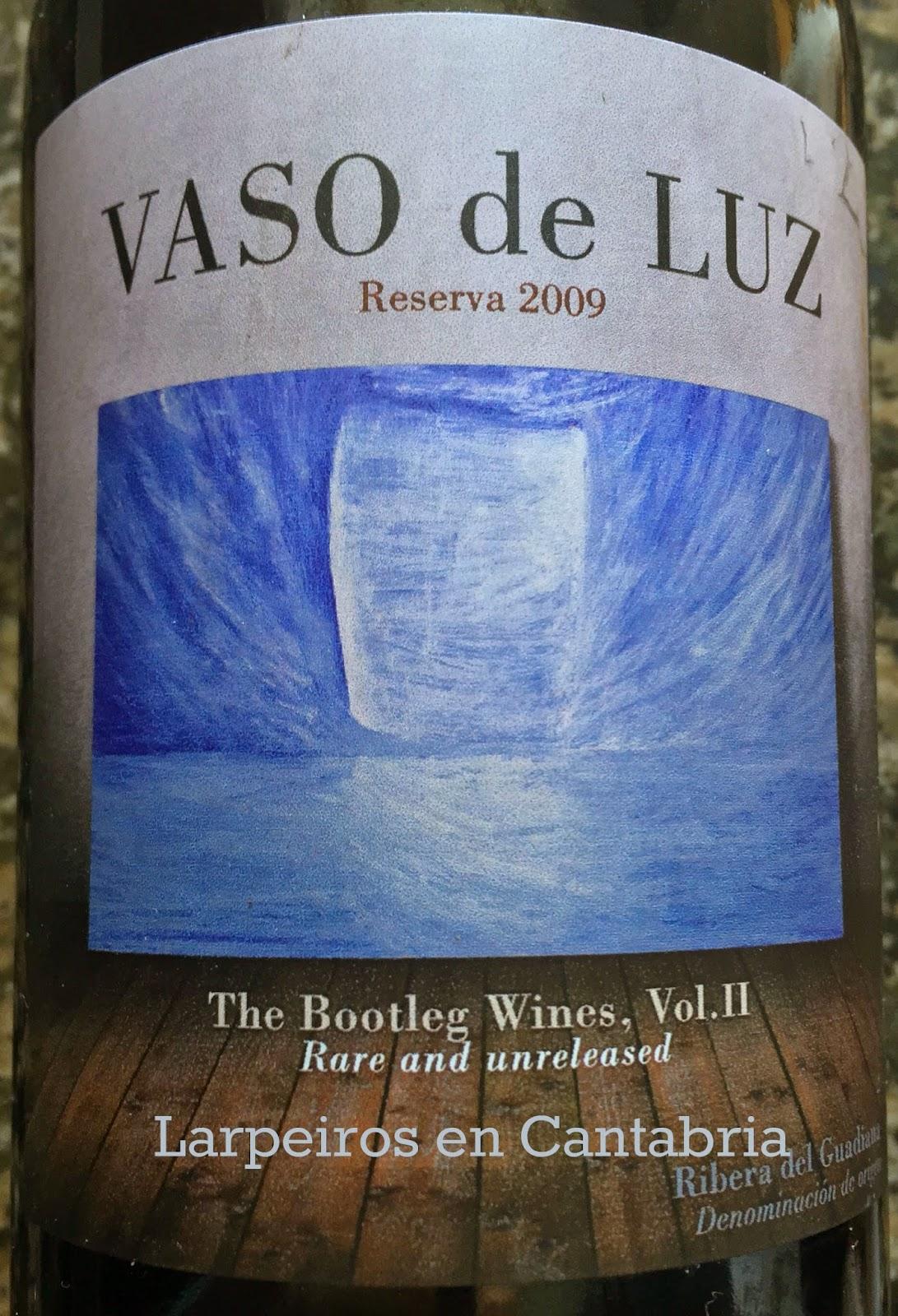 Vino Tinto Vaso de Luz Reserva 2009: Regalo desde Padrón